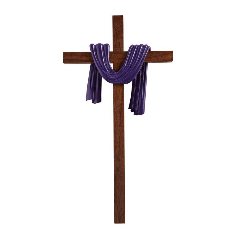 James Brennan™ Lenten Robe Cross - Purple