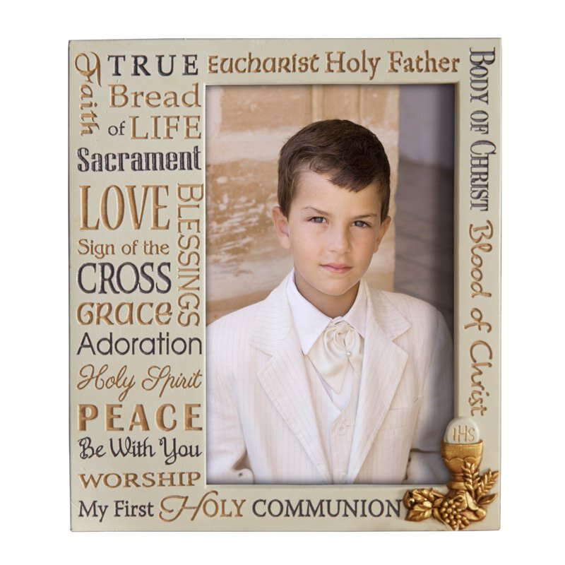 Forever Blessed First Communion Photo Frame