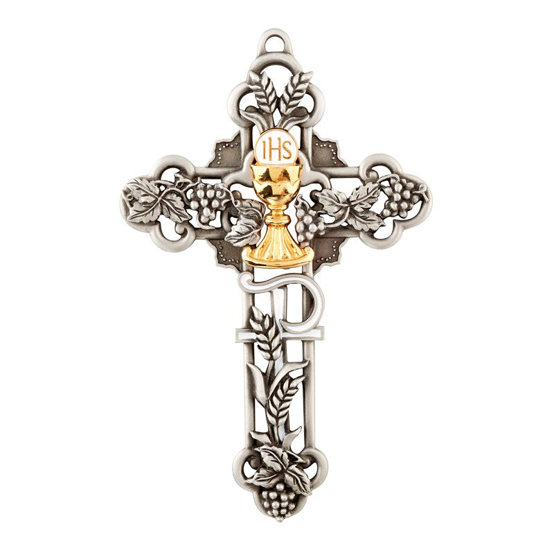 James Brennan™ Sacramental Wall Cross - First Communion