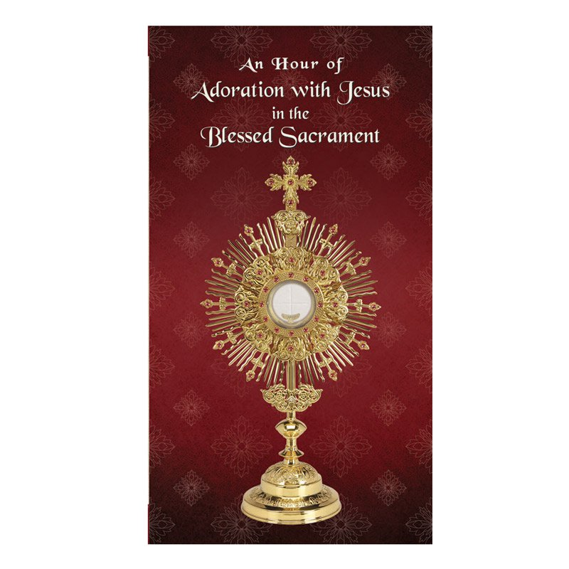Adoration Trifold Card - 24/pk