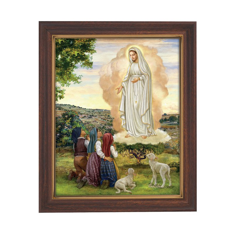 Our Lady of Fatima Framed Print