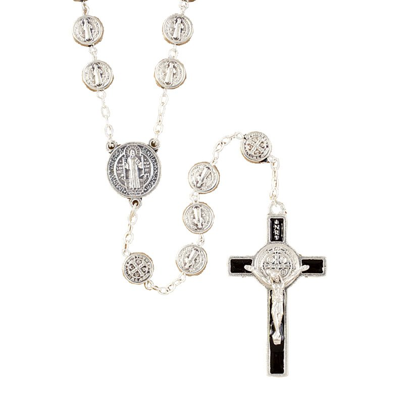 St. Benedict Medals Rosary