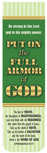 Magnetic Bookmarks Armor Of God