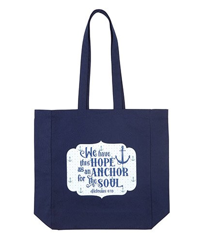 e9f1285a21 Hope Is An Anchor Tote Bag - Discontinued