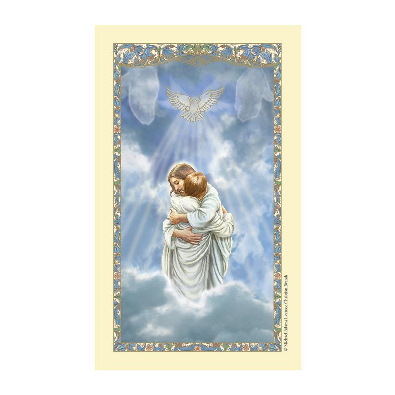 The Reunion Laminated Holy Card - 25/pk