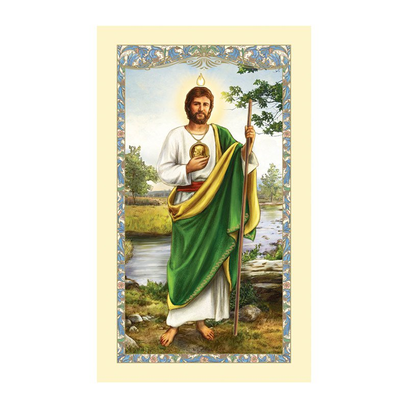 St. Jude Laminated Holy Card - 25/pk