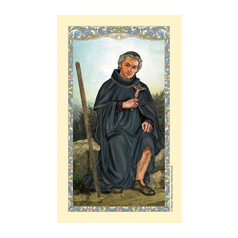 St. Peregrine Laminated Holy Card - 25/pk