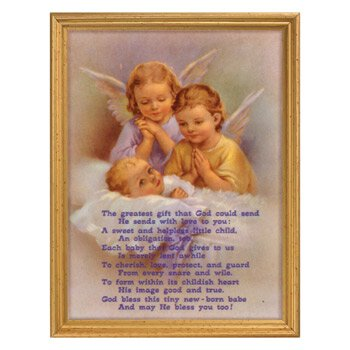Guardian Angels Framed Print