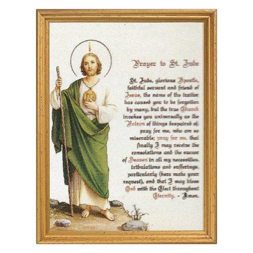 St. Jude Framed Print