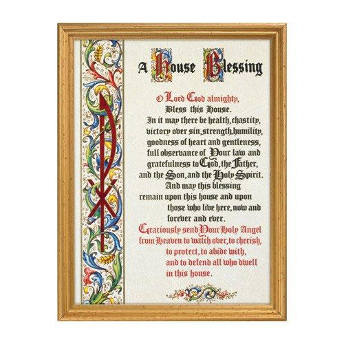 A House Blessing Framed Print
