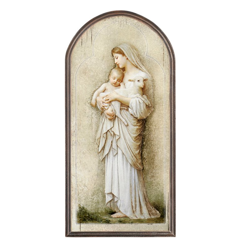 Marco Sevelli Arched Plaque - L'Innocence