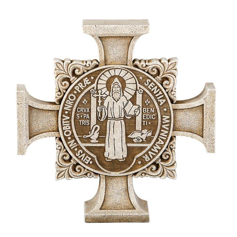 St. Benedict Cross Stepping Stone