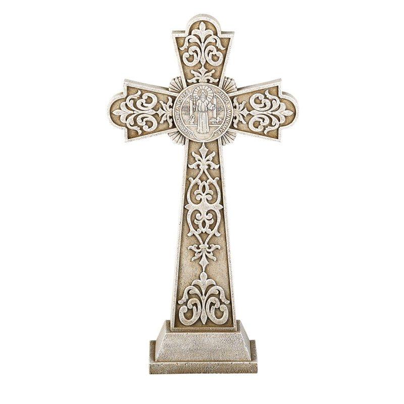 St. Benedict Garden Cross