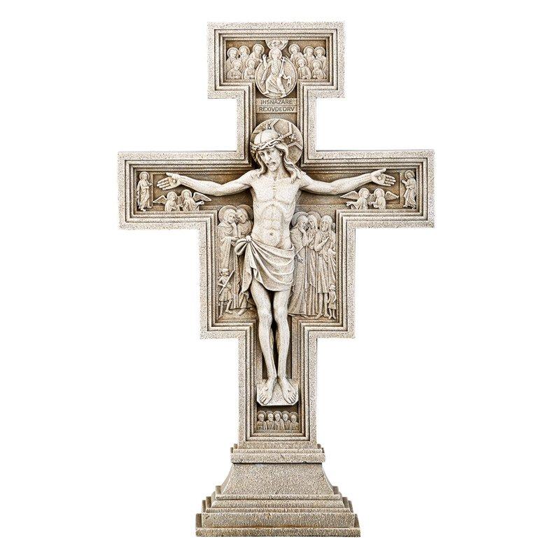 San Damiano Garden Crucifix