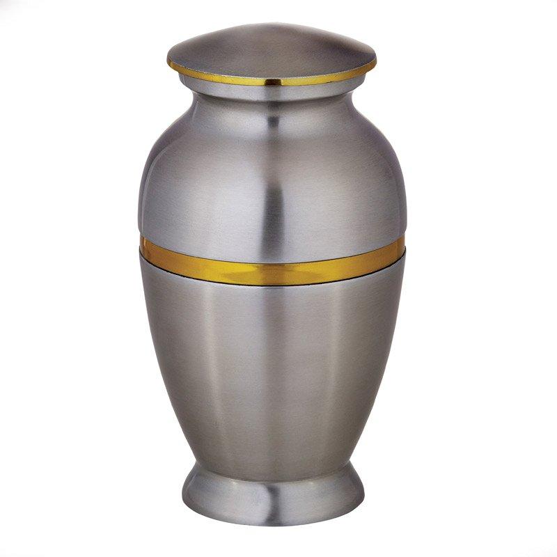 Aluminum Memorial Urn