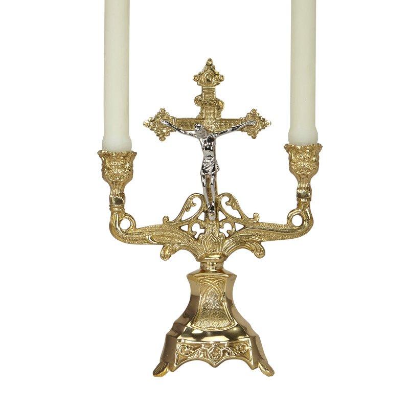 Altar Crucifix Candlestick