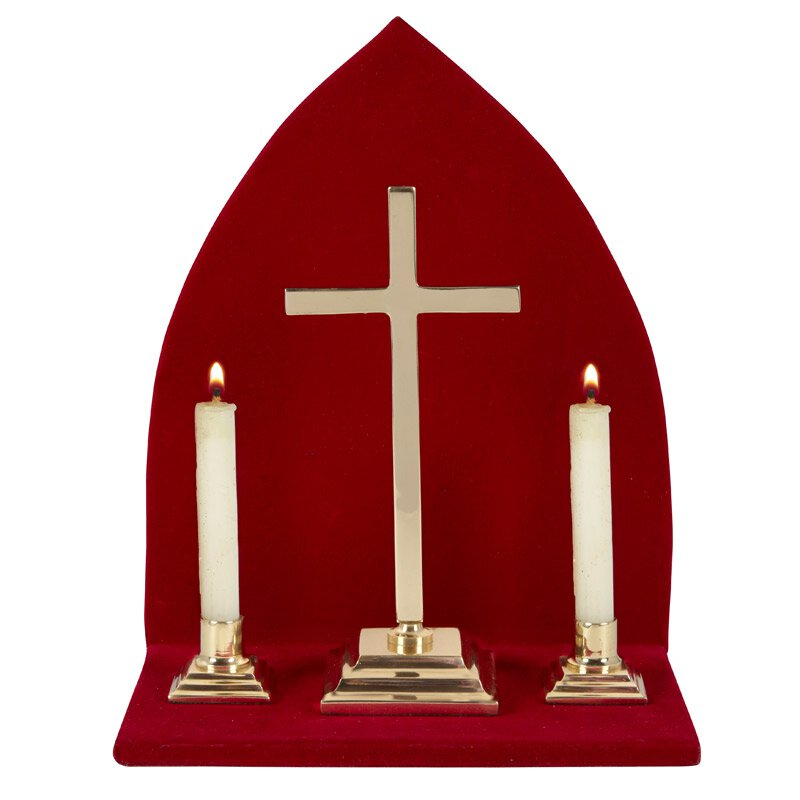 Altar Set with Stand - Cross