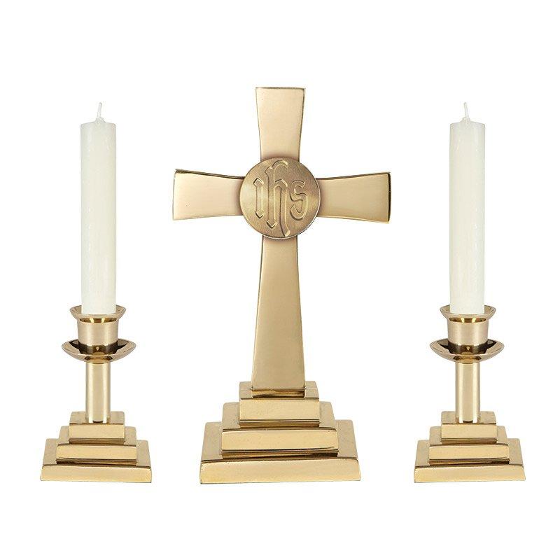 Altarware, Altar Candlesticks, Candleholders, Sudbury Brass | Autom