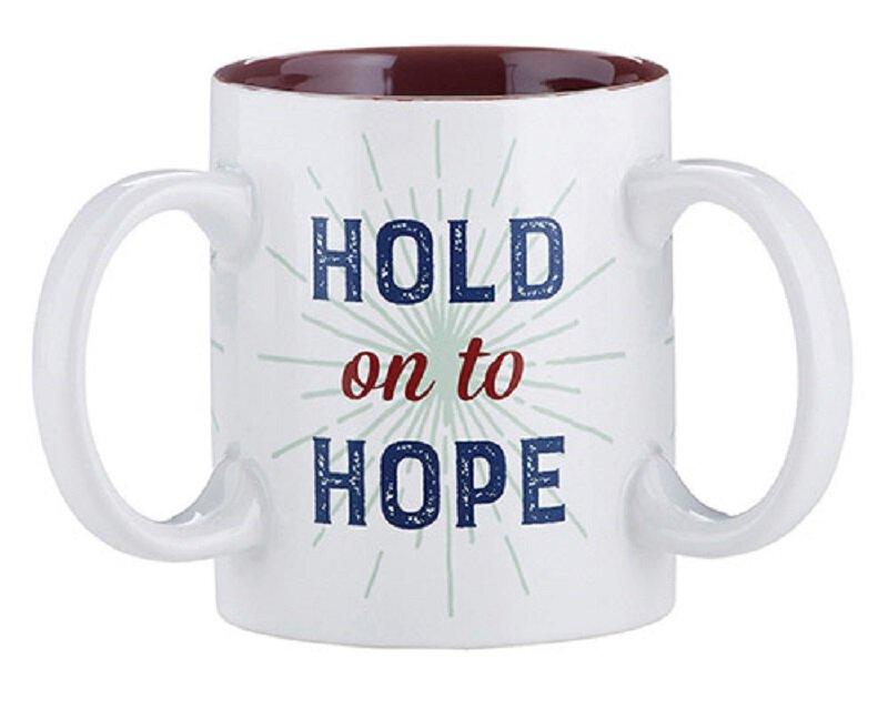 Hold On To Hope Mug