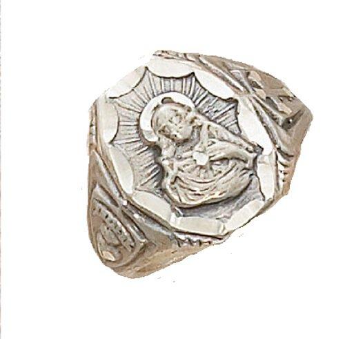 Scapular Sterling Silver Ring