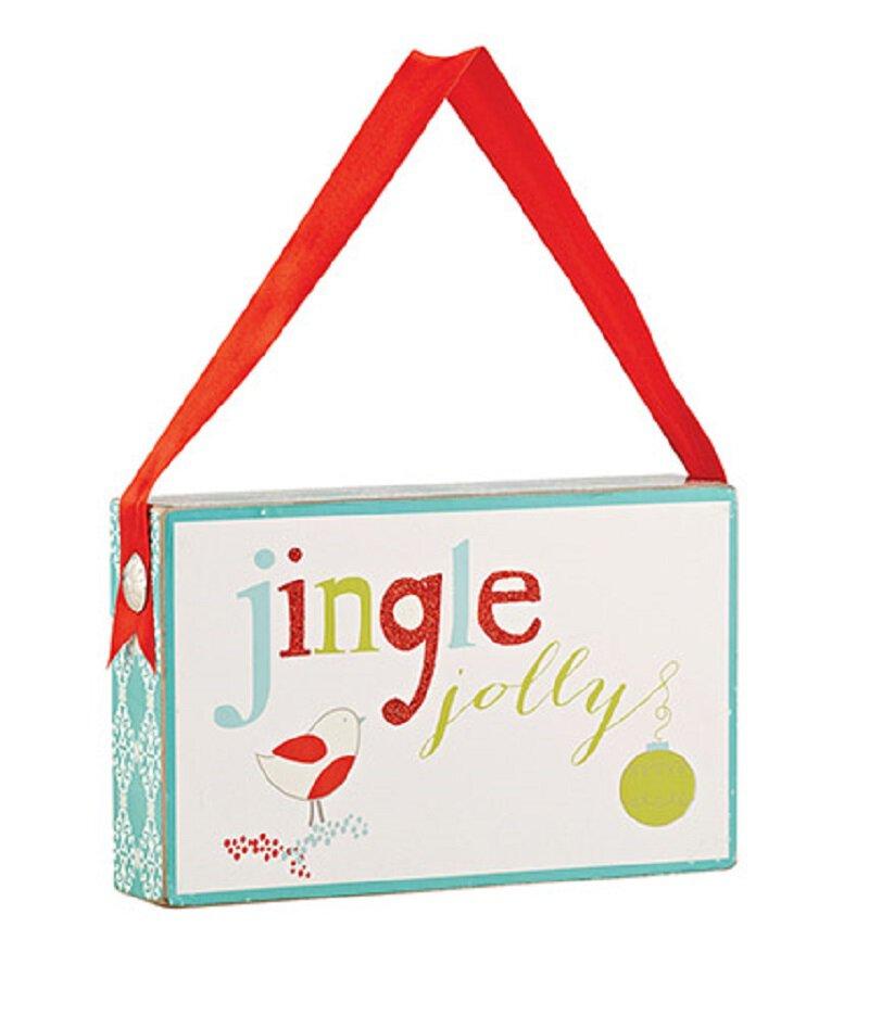 Jingle Jolly Box Plaque