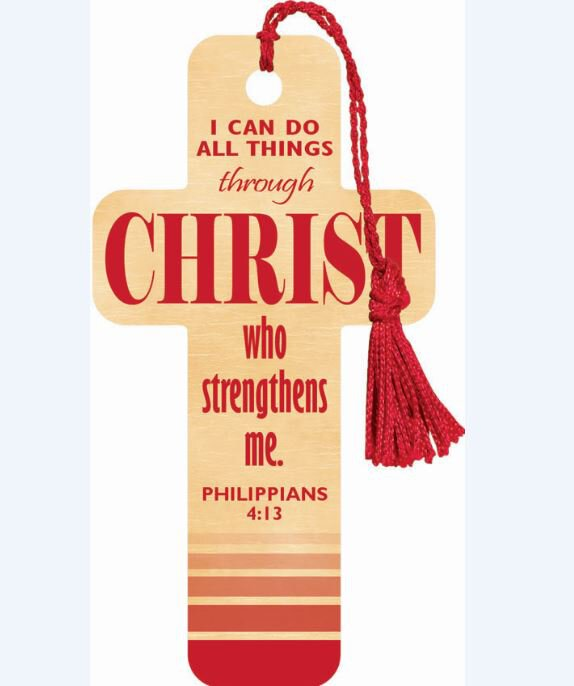 Cross Bookmark Do All Things