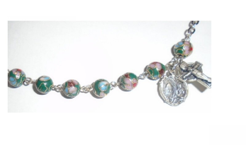 Cloisonne Bracelet 8 mm