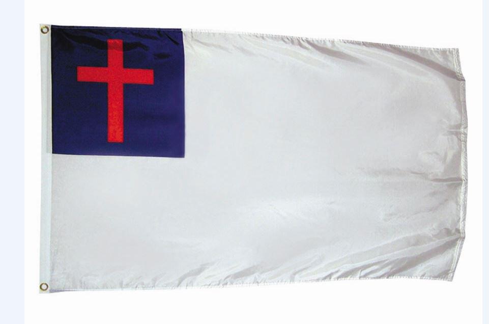 Large Christian Church Flag
