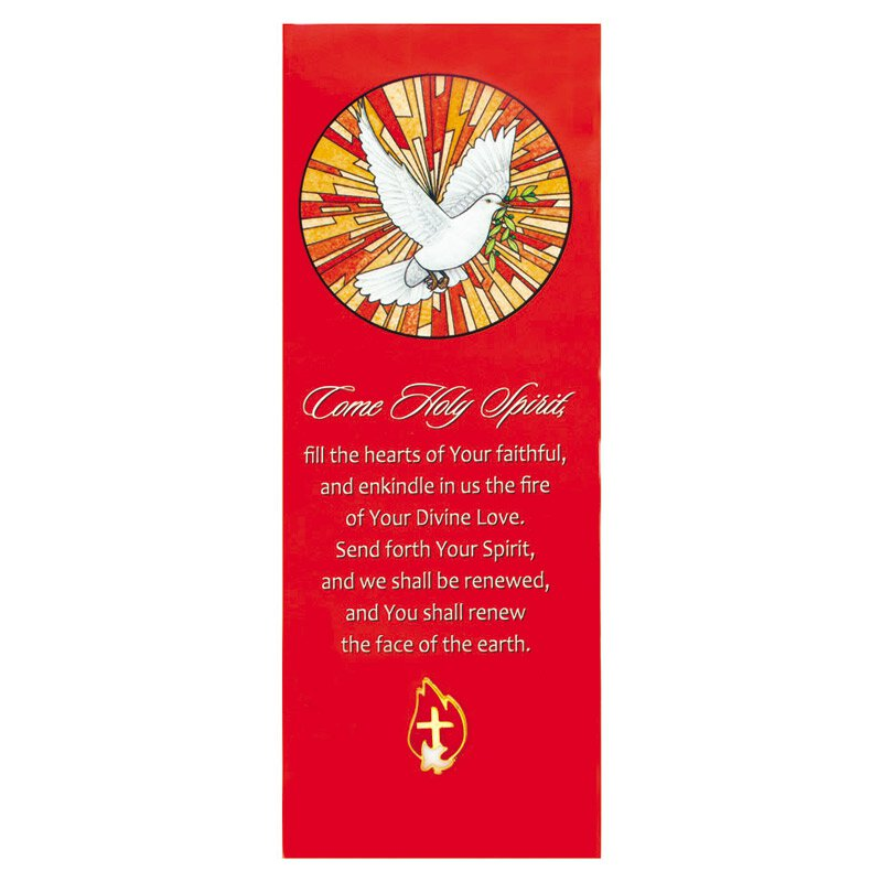 Come Holy Spirit Lapel Pin with Bookmark - 12/pk