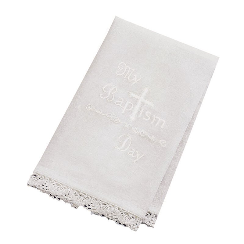 My Baptism Day Towel - 4/pk