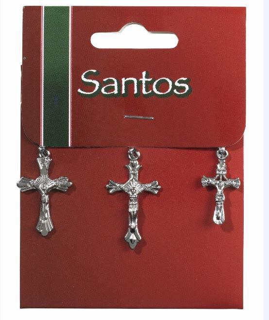 Crucifix Assorted 3 Piece  - 12/Pk