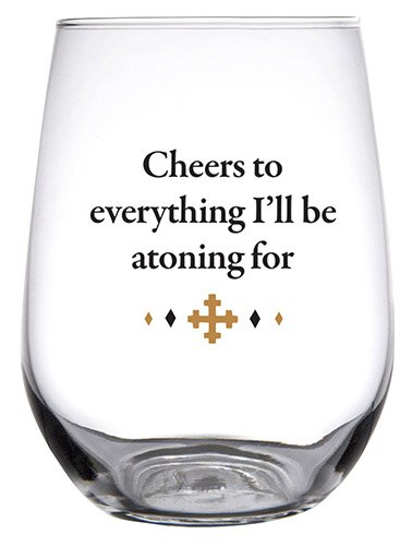 Stemless Wine Glass - Cheers