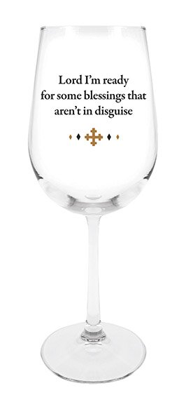 Stemmed Wine Glass - Disguise