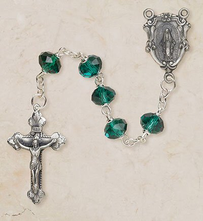 Emerald Fatima Rosary
