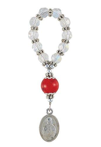 Sacred Heart Finger Rosary