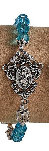 Miraculous Centerpiece Bracelet - Aqua
