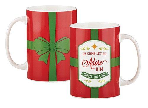 Oh Come Let Us Adore Him Mug