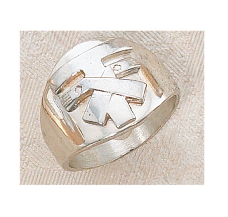 Franciscan Tau Ring Sterling Silver Sizes 7-12