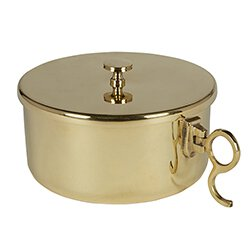 300 Host Brass Stacking Ciboria with Lid