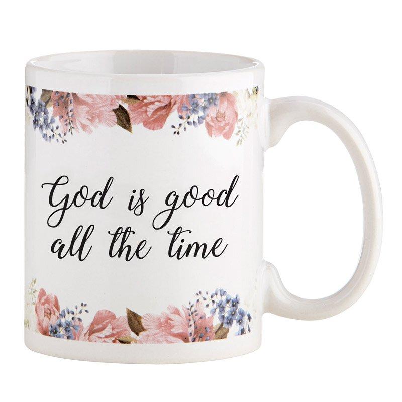 God is Good All the Time Mug - 12/pk