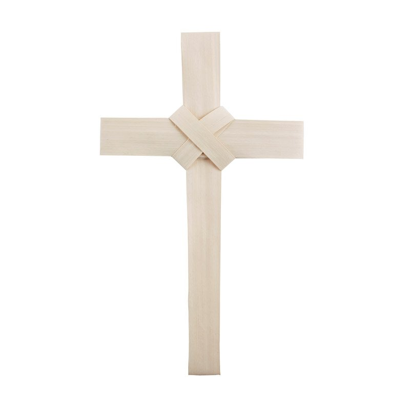 Palm Cross with Crossover Center - 50/pk