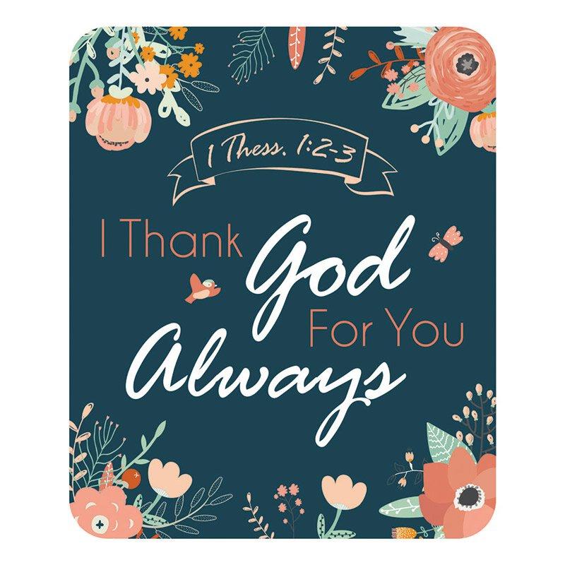 I Thank God for You Always Magnet - 24/pk
