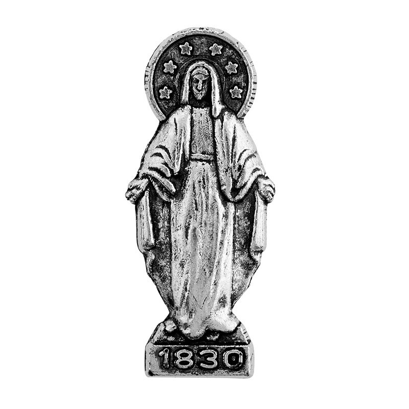 Our Lady of Grace Pocket Statue - 24/pk