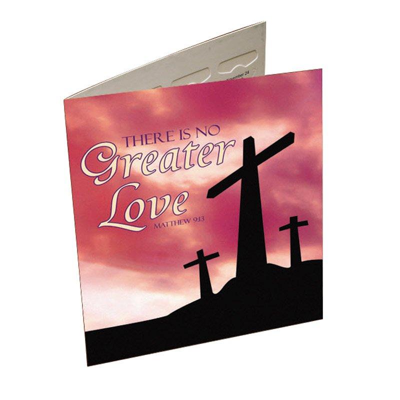 No Greater Love Lenten Offering Folder - 50/pk