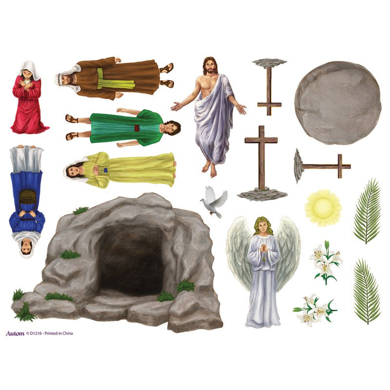 The Easter Story Magnet Set - 12 sheets/pk