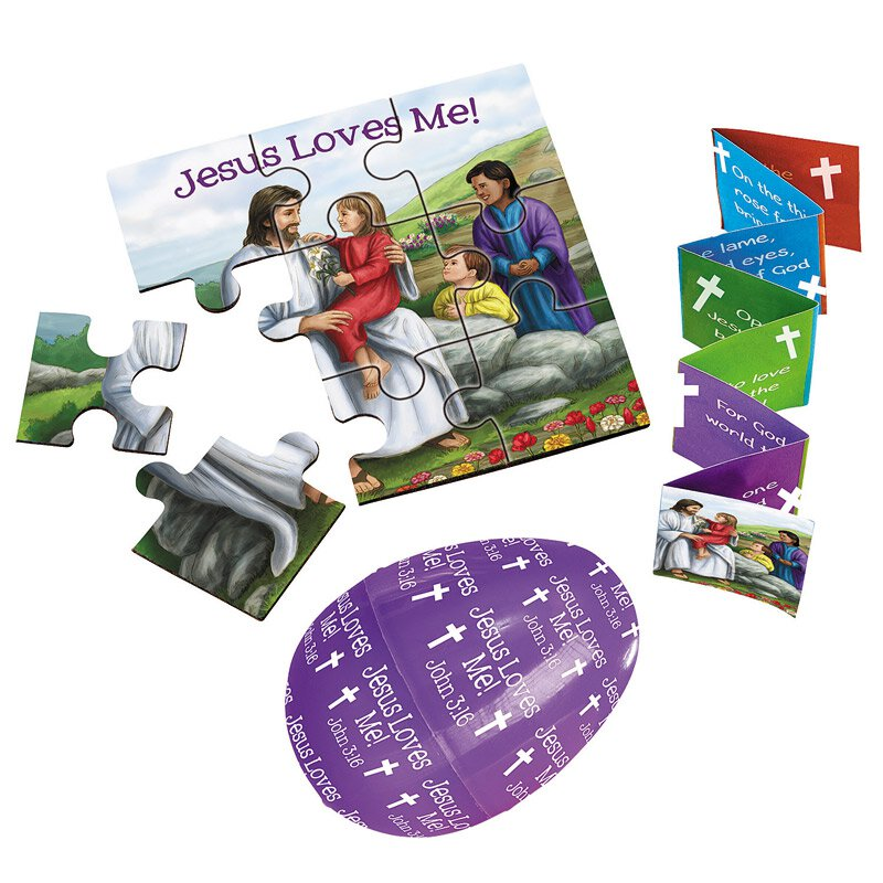 The Easter Story Kit with Puzzle - 24/pk
