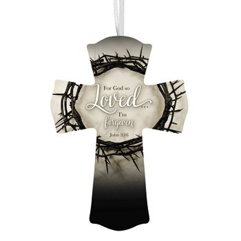 For God So Loved Cross - 12/pk