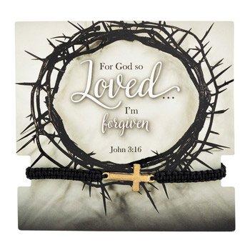 For God So Loved Bracelet with Card - 12/pk