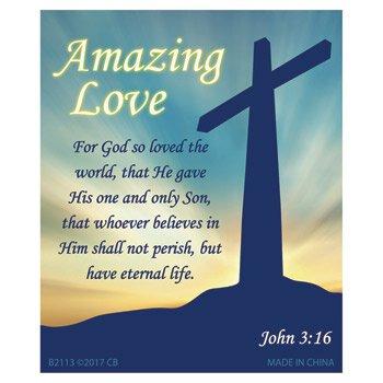 Amazing Love Magnet - 24/pk