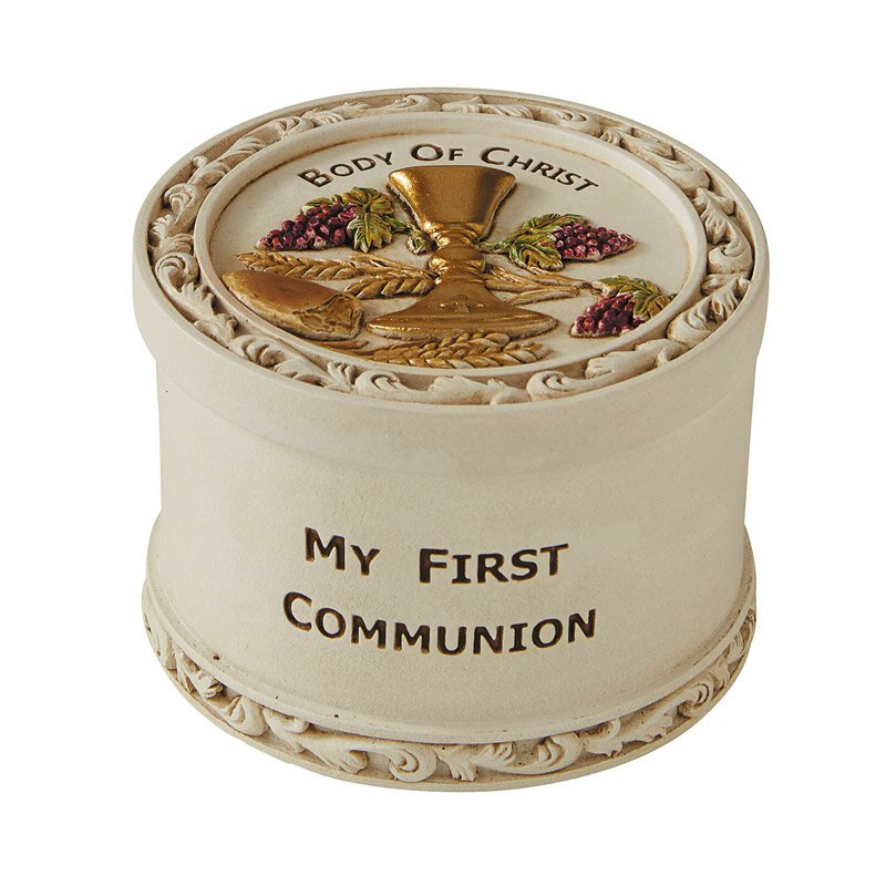 Body of Christ First Communion Rosary Box - 2/pk